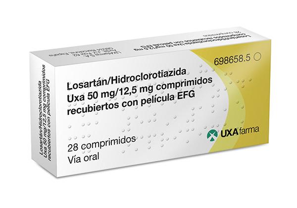 Losartán/Hidroclorotiazida Uxa
